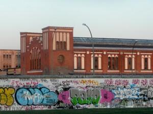 East side gallery wall in Berlin