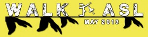 ASL Walk banner