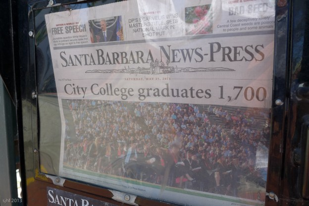 Same number of graduates as elephant seals. Hmm, what do you think that means?