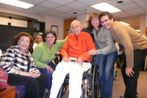 Patricia Neal visited her eponymous rehabilitation center Fall 2008