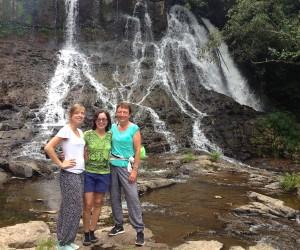 Ho'opi' Falls, Kaua'i with Sj