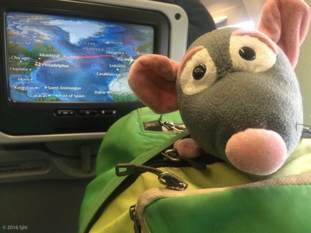 Pedrata Flight Route